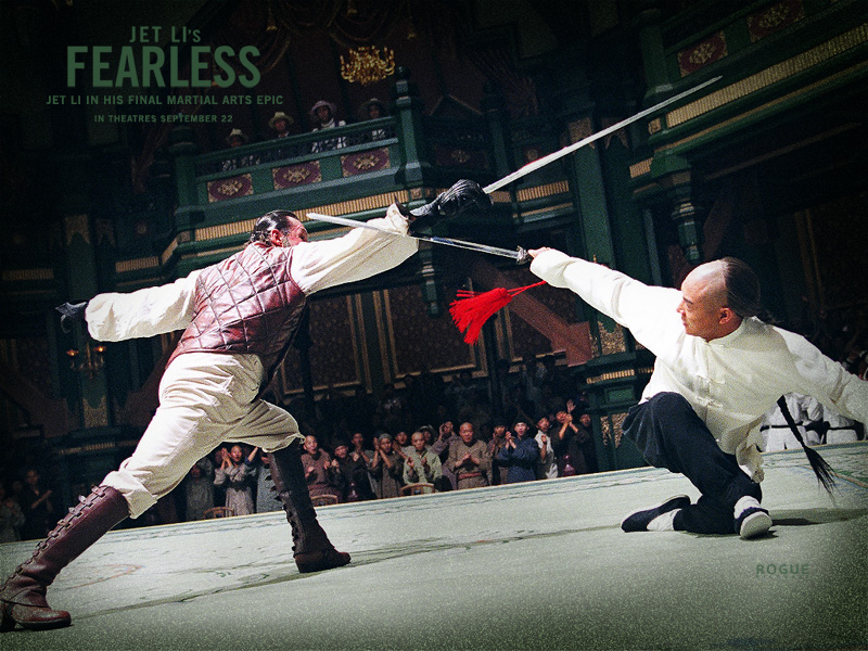 Movie Fearless Wallpaper Screensaver- Jet Li Final Martial