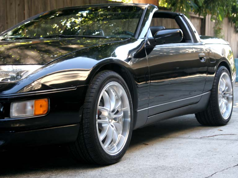 The Most Popular Nissan 300zx Turbo Rims And Tires Sizes