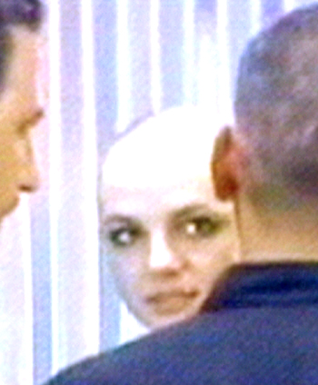 and Britney shaved head spears