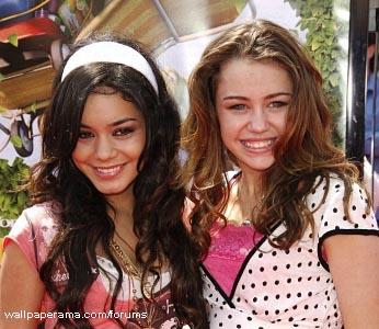 Miley Cirus and vannessa hudgens
