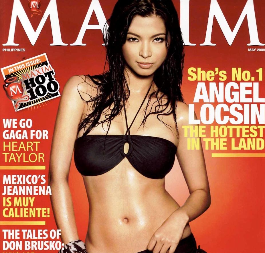 have you heard of youtube angel locsin scandal.com? she is such a