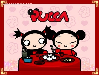 Pucca And GARU Funny Love cartoon Wallpapers Pics Pictures Funy chinese