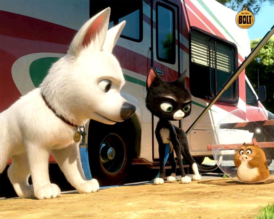 Dog animation movie
