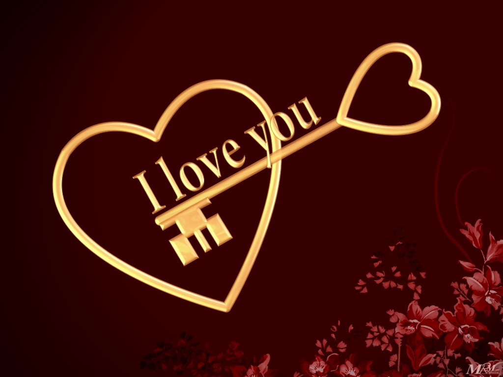 I Love You Wallpaper In HD Background Download Free