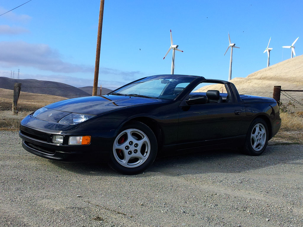 for sale really nice nissan 300zx twin turbo z32 1996 nice car. Black Bedroom Furniture Sets. Home Design Ideas