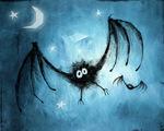 Scary Bats Wallpaper