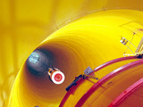 Yellow Tube Wallpaper