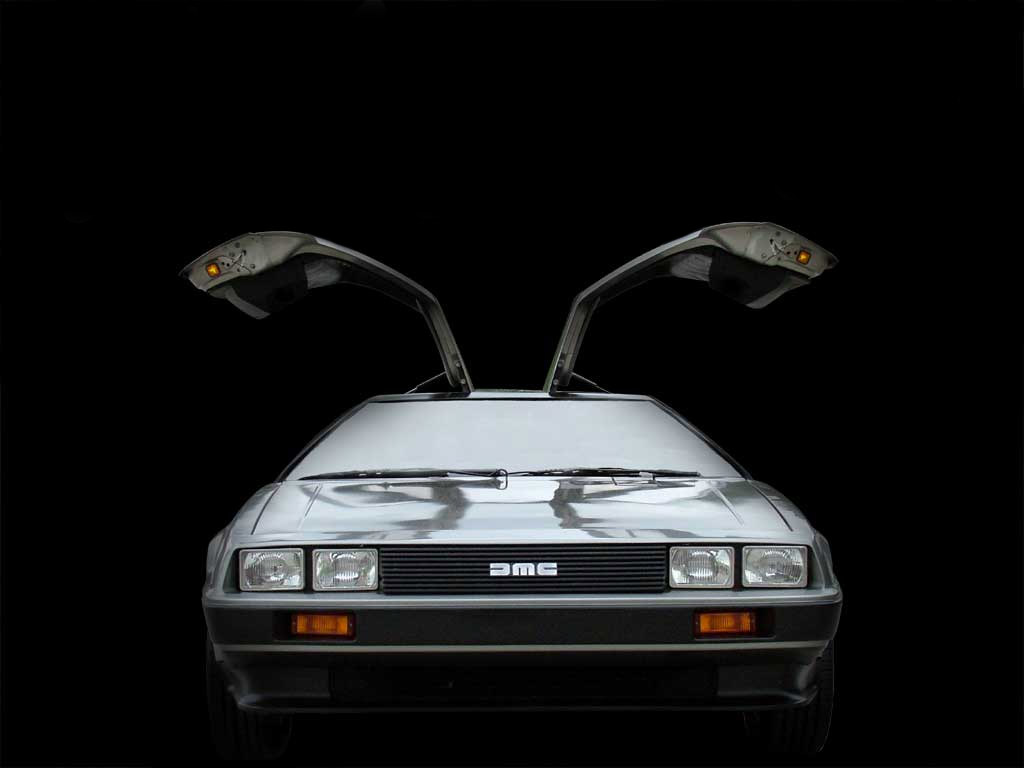delorean wallpaper download - photo #27
