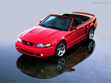 Ford Mustang Cobra Convertible Wallpaper