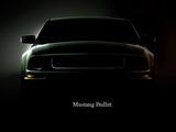 Mustang Bullitt Wallpaper