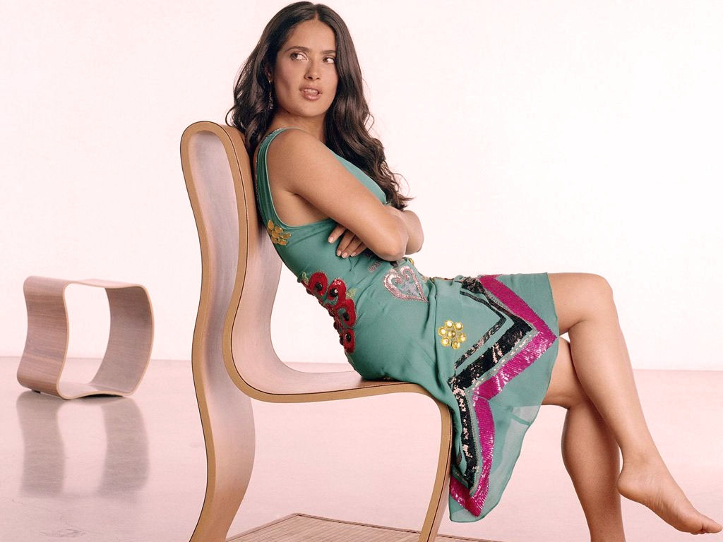 Salma Hayek Wallpaper Free HD Backgrounds Images Pictures