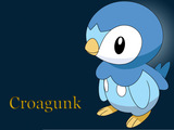 Croagunk Wallpaper