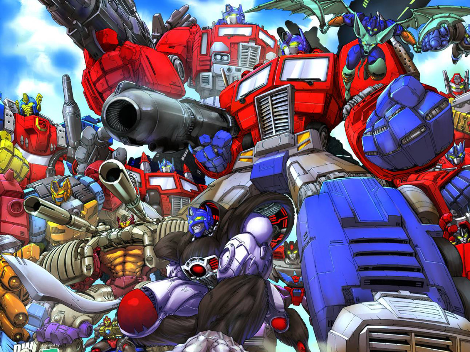 Dinobots Wallpaper