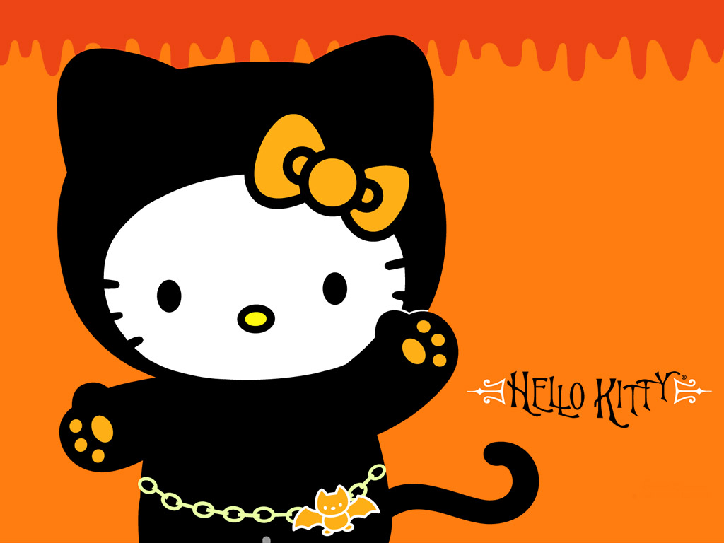 Hello Kitty Halloween Wallpaper Free Hd Backgrounds Images Pictures