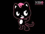 Nero Angry Kitty Wallpaper