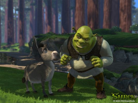 Shreck And Donkey Wallpaper