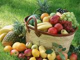 Fruit Basket Wallpaper