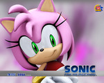 Sonic Amy Wallpaper