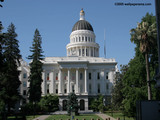 Sacramento State Capitol Wallpaper