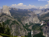 Yosemite Half Dome Valley Wallpaper