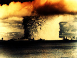 Atomic Nuclear Bomb Mushroom Cloud Wallpaper