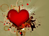 Emo Broken Heart Wallpaper