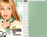 Hannah Montana Calendar Wallpaper