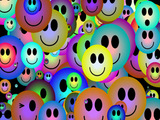 Happy Faces Wallpaper