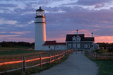 Light House Sunset Wallpaper