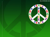 Peace Logo Wallpaper