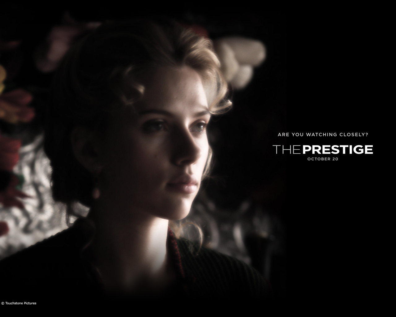 Scarlett Johansson The Prestigue Wallpaper