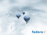 Fedora Balloons Wallpaper