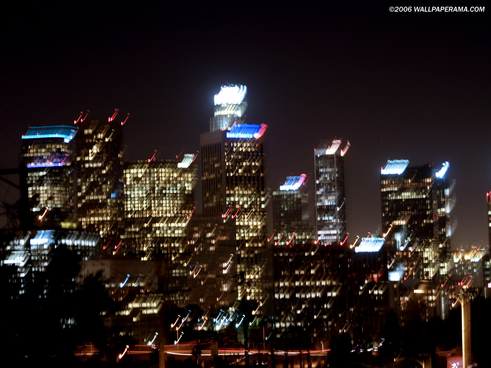 Los Angeles Sky Lite Wallpaper