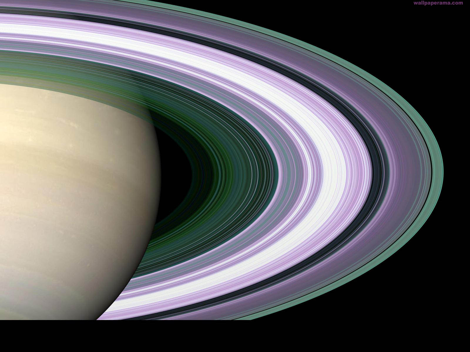 Saturn Rings Wallpaper