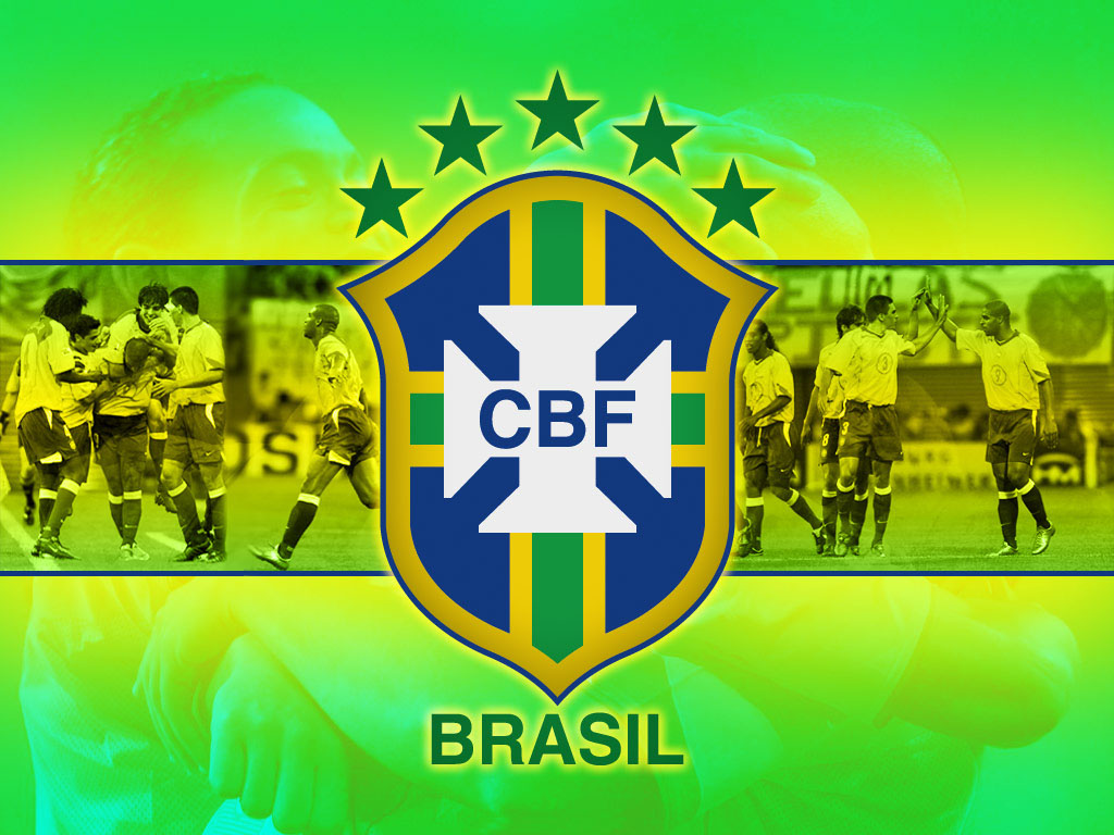 Brazil soccer world cup wallpaper free hd backgrounds images pictures - Logo club foot bresil ...