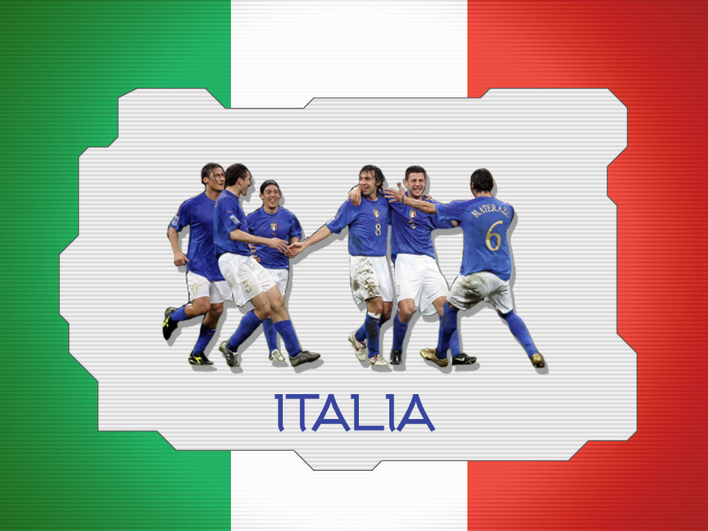 Soccer Futball Italy Team Wallpaper