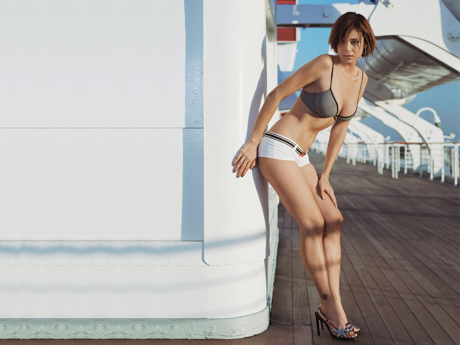Sexy catherine bell wallpaper